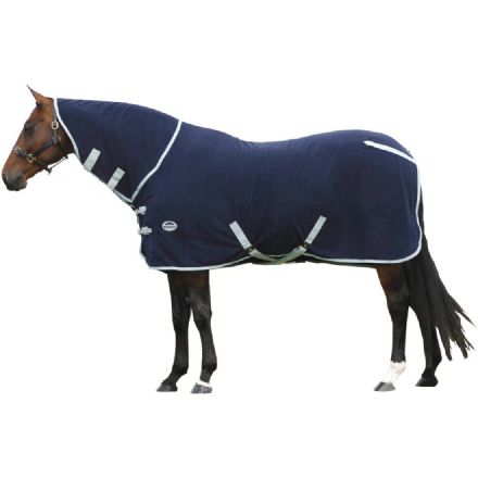 Weatherbeeta Polar Fleece Cooler Combo Navy & Silver